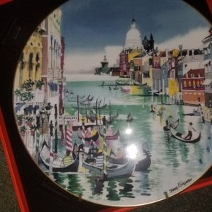 Royal Doulton Venice Winning Colors Plate